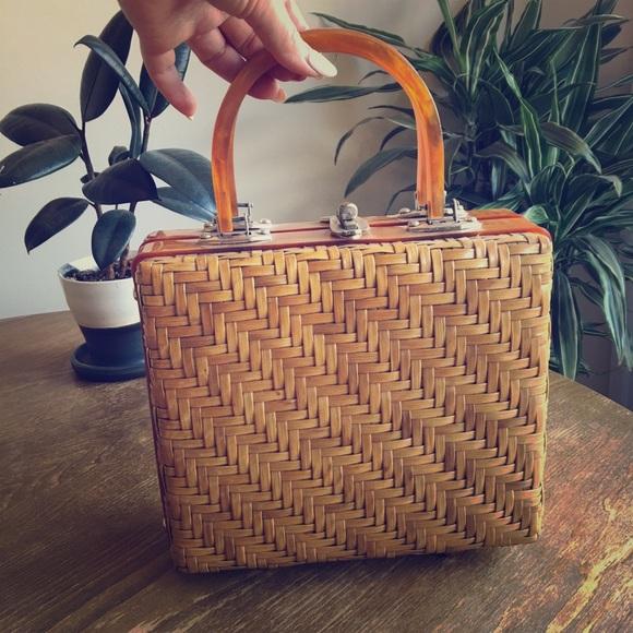 dd1931d8bb42 Bags | Rare Vintage Wicker Bag | Poshmark